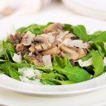 Arugula Warm Mushroom Salad
