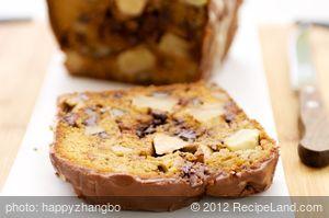 Apple Walnut and Chocolate Cake