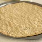 Divide dough in half,