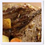 Savory Crockpot Pot Roast