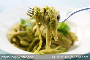 Pasta with Creamy Avocado Pesto