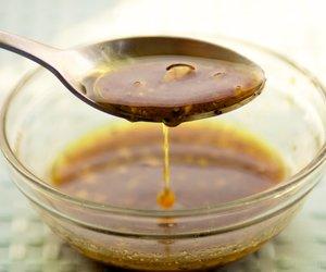 Maple, Soy Sauce and Mustard Vinaigrette