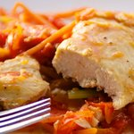 Chicken, Pepper and Tomatoes