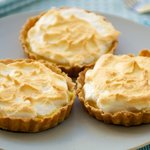 Mini Key Lime Meringue Tartlets