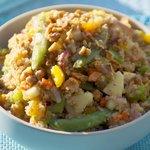 Toasted Quinoa, Apple and Walnut Salad