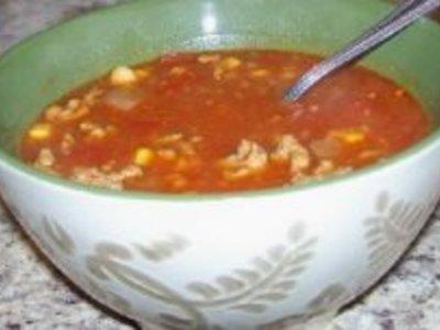 Amy's Mexican Chili Crockpot Soup