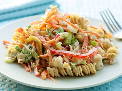 Low Fat Creamy Pasta Salad