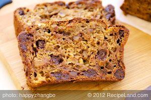 Hawaiian Banana Chocolate Bread
