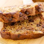 Hawaiian Banana Chocolate Bread