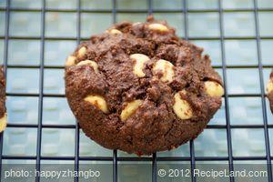 Applesauce White Chip Chocolate Cookies
