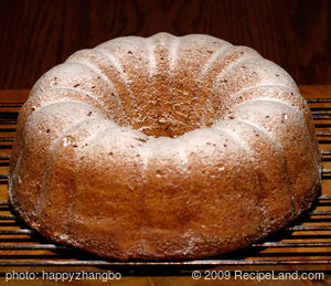 Pineapple Bundt Cake Supreme