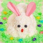 White Easter Bunny Cake