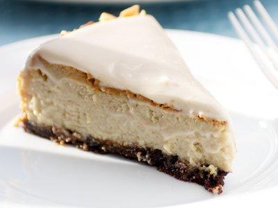 Elaine's Kahlua and Cream Cheesecake