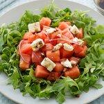 Arugula, Watermelon and Feta Salad
