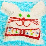 Cute Bunny Cake for Easter