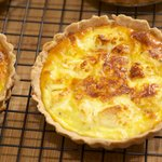 Five Cheese Quiche