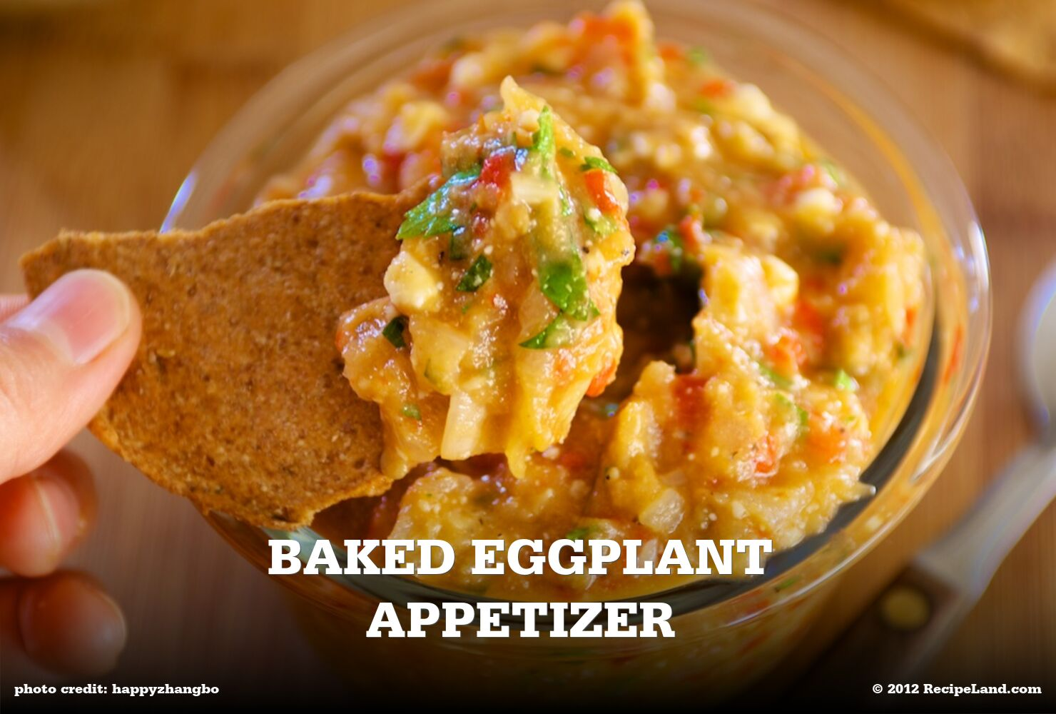 Baked Eggplant Appetizer