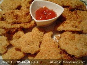Baked Parmesan Chicken Fingers (Low Fat)