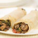 Spinach-Mushroom Crepes