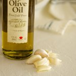 Meanwhile you need some garlic and good olive oil.