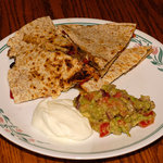 Healthy Farmer's Market Vegetarian Quesadillas