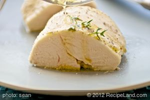Basic Poached Chicken Breasts