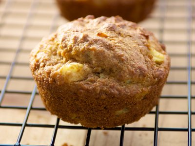 Pineapple-Bran Whole-Wheat Muffins