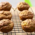 Pineapple-Bran Whole-Wheat Muffins