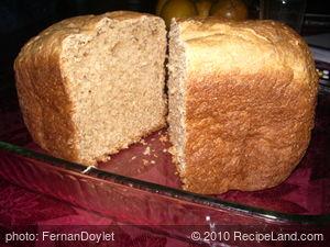 Lime and Coconut Milk Bread (Bread Machine)