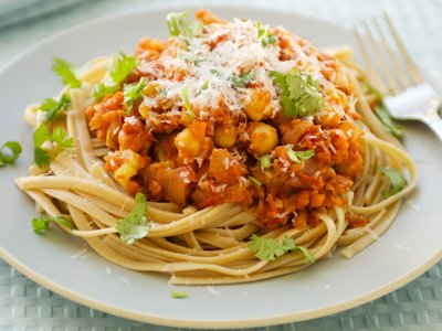 Best Chickpea Bolognese