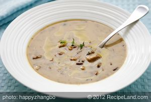 Minnesota Cream of Mushroom Soup