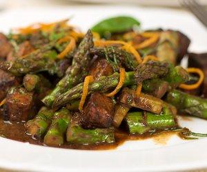 Orange-Roasted Tofu & Asparagus
