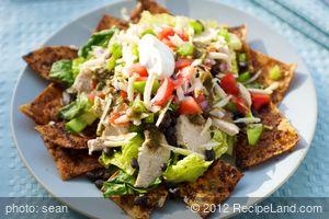 Black Bean-Taco Salad with Lime Vinaigrette