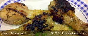 Spicy Green Pepper Honey Dijon Chicken