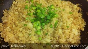 Basic Cauliflower Fried Rice