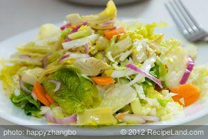 6 Minute Veggie Salad