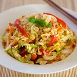 Thai Cabbage Slaw