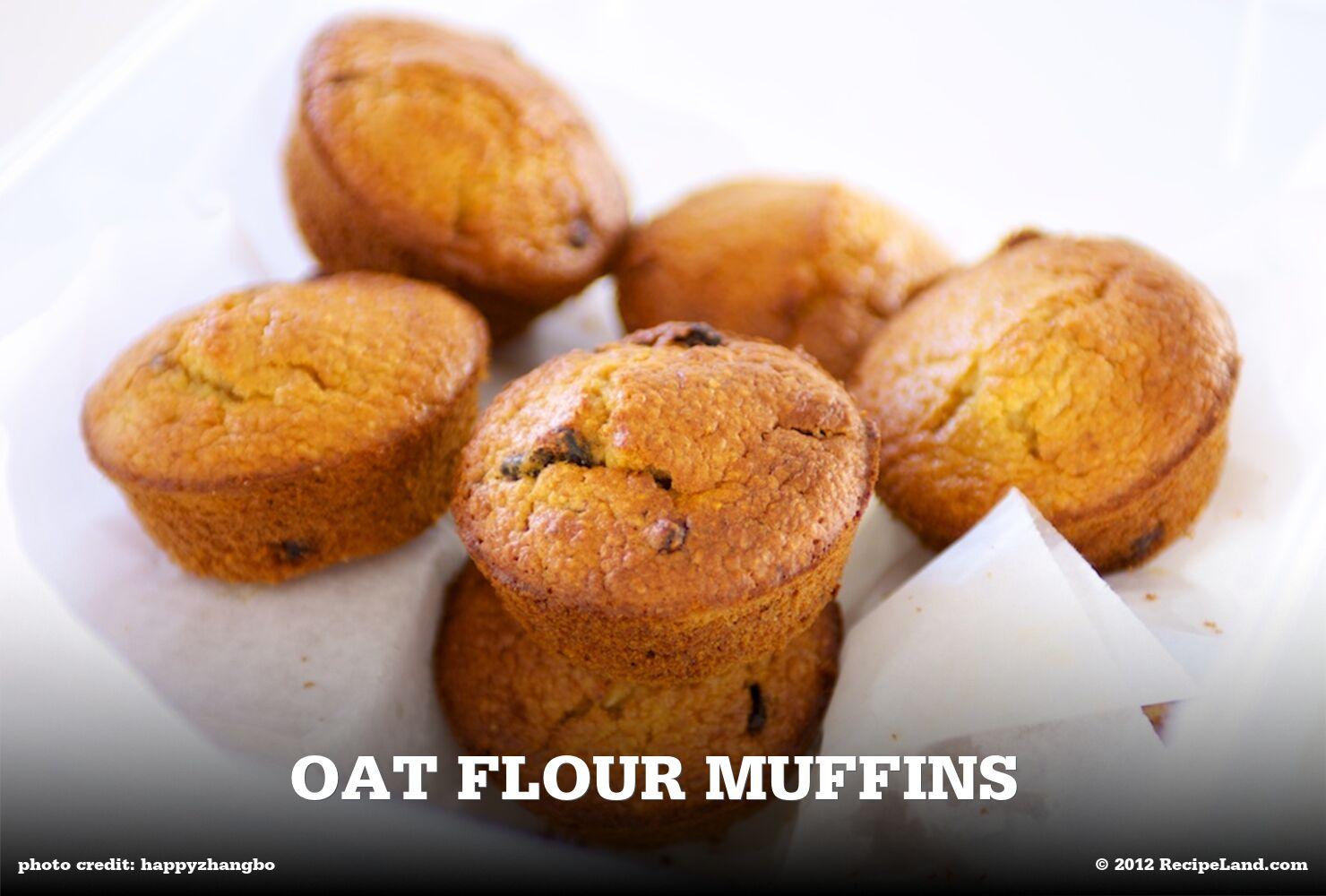 Oat Flour Muffins