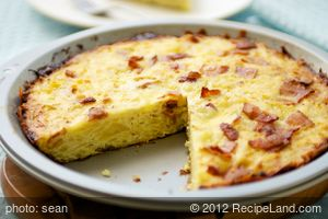 Bacon Potato Pie
