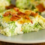 Broccoli Bacon Quiche (Crustless)