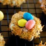 """M & M's""® Bird's Nest Cookies"