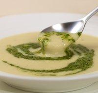 Artichoke, Leek, Potato and Garlic Soup
