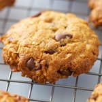 Coconut, Peanut Butter and Chocolate Chip Cookies