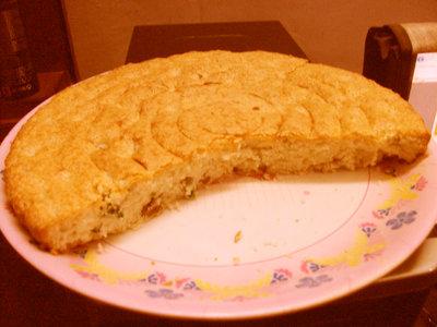 Moist Butter Raisins Cake