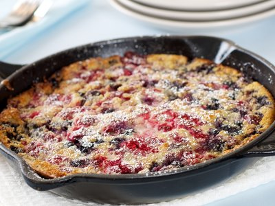 Mixed Berry Dutch Baby