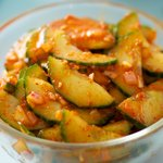 Spicy, Sweet and Sour Cucumber Salad
