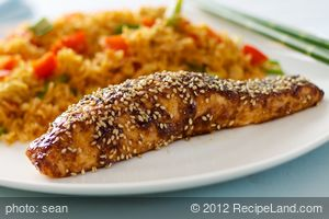 Asian Glazed Salmon (Easy)