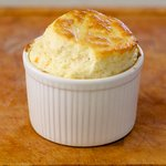 Smoked Salmon Cream Cheese Soufflé