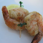 Grilled Garlic Shrimp (as an hors d'oevres)