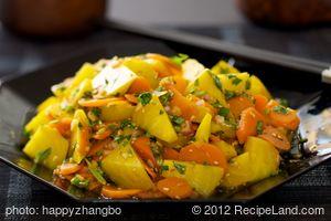 Asian Beet and Carrot Salad